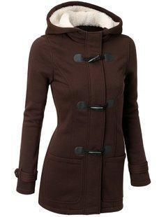 Tia Berry Hooded Coat