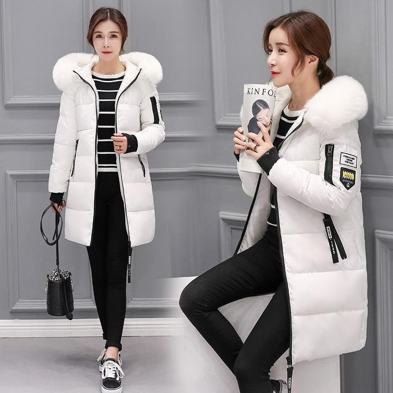 Dollie Fur Hooded Coat