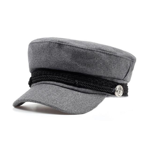 Military Solid Visor Hat
