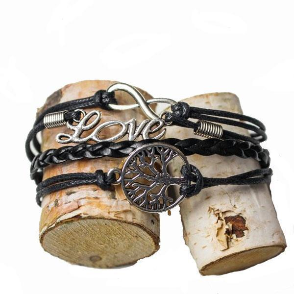 Black Forest Love Bracelet - Shusha chic