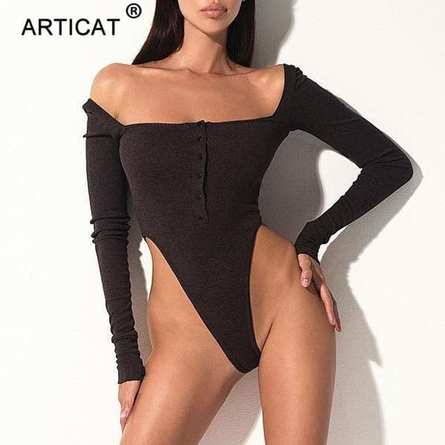 Ariana Off Shoulder Bodysuit