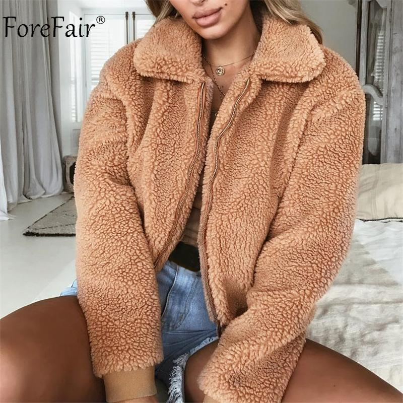 Rachel Fleece Fur Jacket