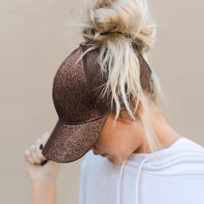 Ponytail Basketball Cap