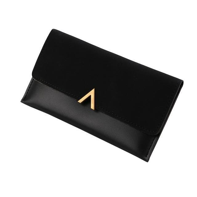 Golden Triangle Leather Wallet