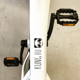 Custom bike decal by VeloInk.