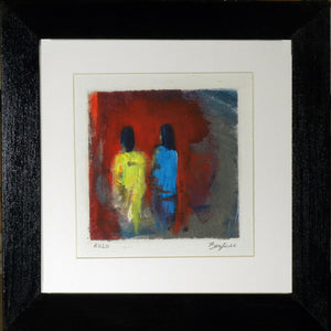Framed Small Painting by BenWill