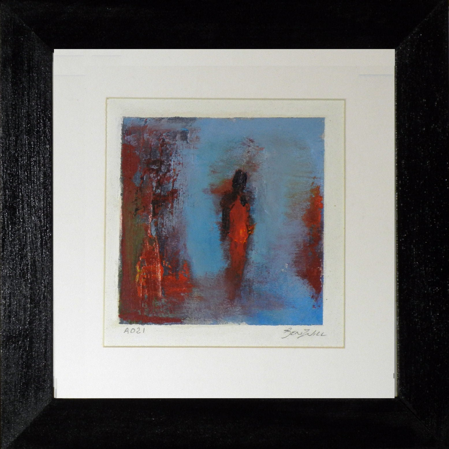 Framed Small Painting DSa021
