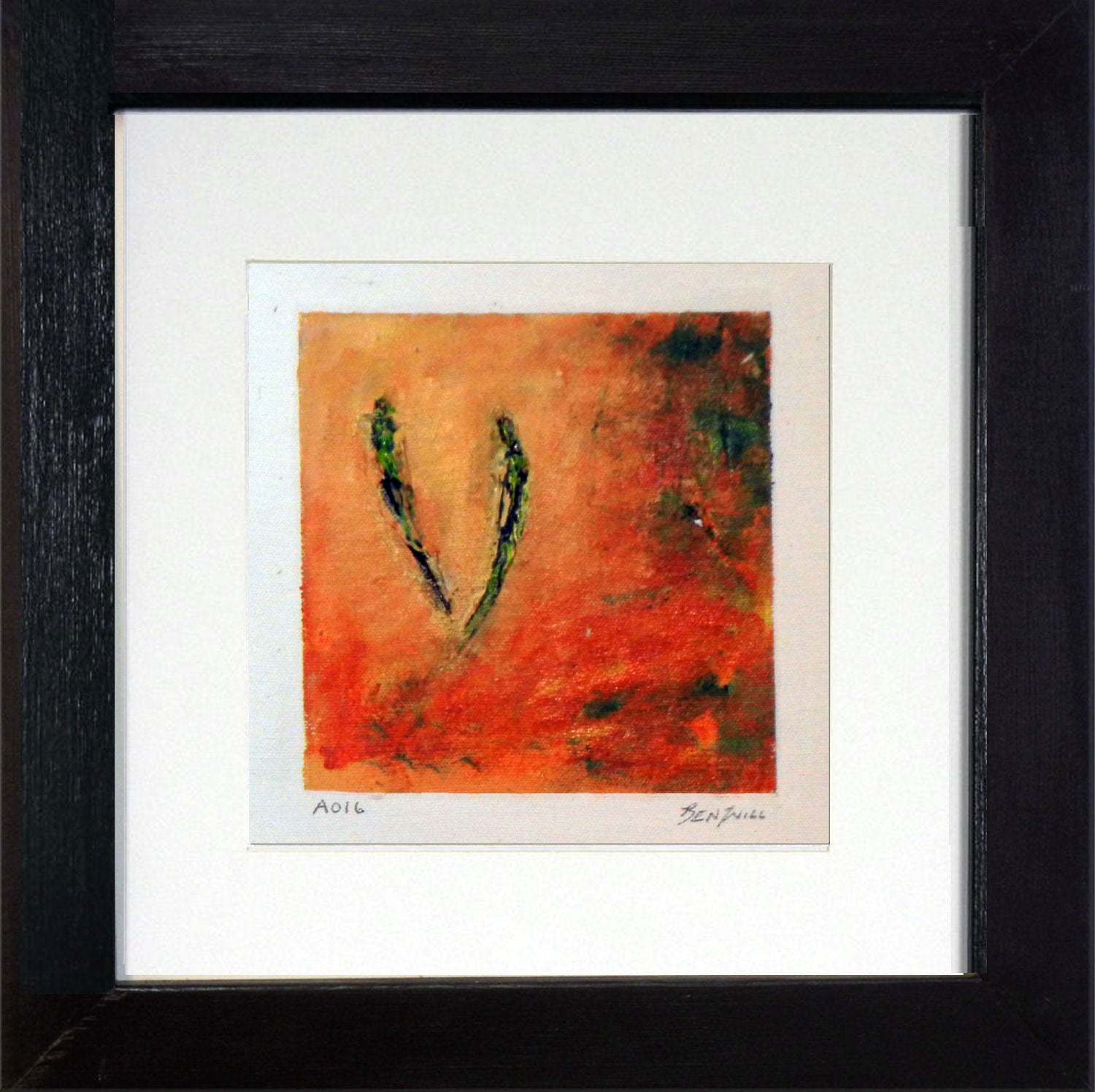 Framed Small Painting A016