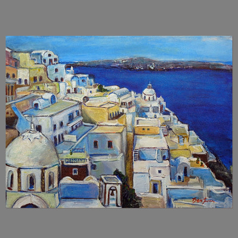 Fira Santorini - GREECE 24x18
