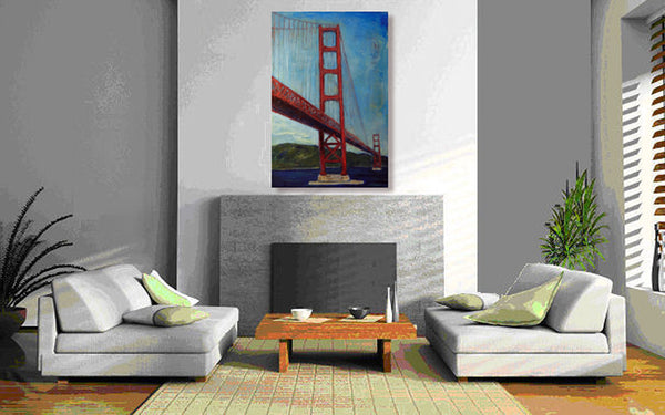 Golden Gate Bridge - San Francisco 36x24