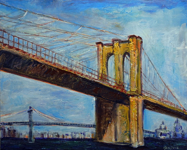 Brooklyn Bridge - New York 30x24