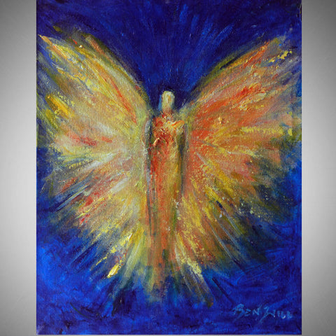 BenWill Art - Angel Beloved Spirit