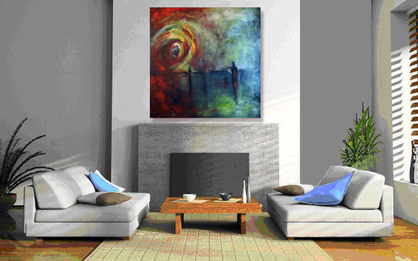 Between Us painting home decor by BenWill