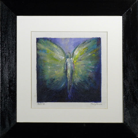 Framed Small Angel Painting BJ01