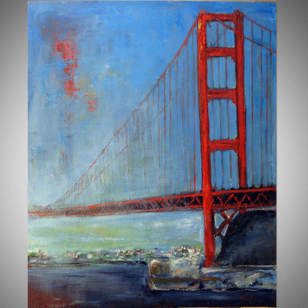 Golden Gate Bridge San Francisco 36x30