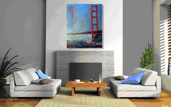 San Francisco Golden Gate Bridge wall decor