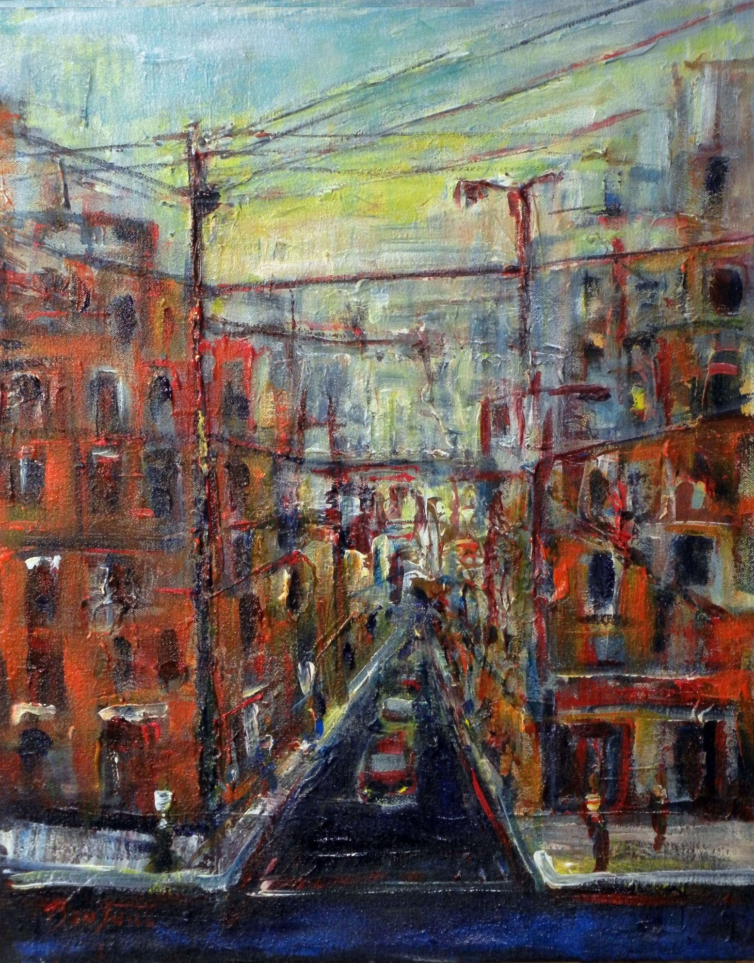 Urban Spaces 20x16