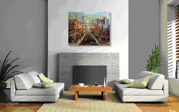 URBAN Spaces II 30x24