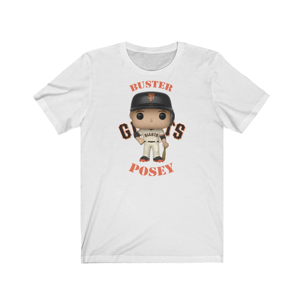 Buster Posey San Francisco Giants, Soft Cotton Bella and Canvas Short Sleeve Tee shirt