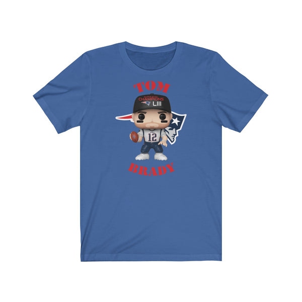 Tom Brady New England Patriots Superbowl, Soft Cotton Bella and Canvas Short Sleeve Tee shirt