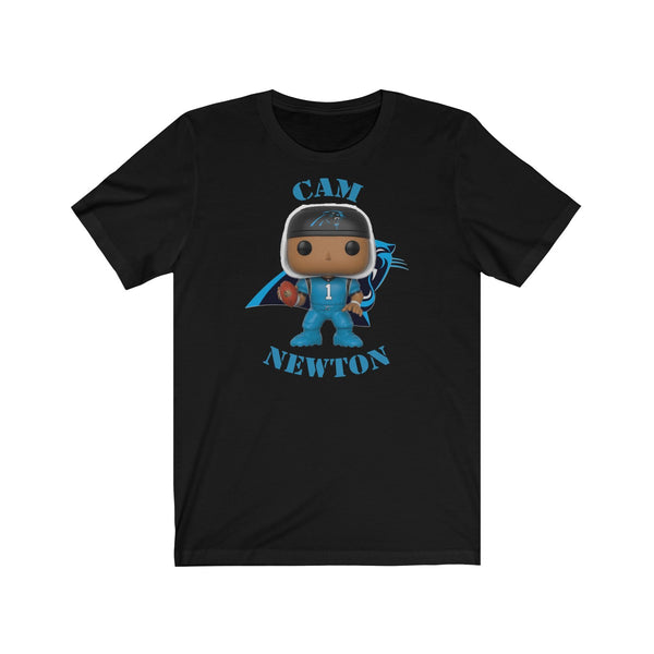 Cam Newton Carolina Panthers, Soft Cotton Bella and Canvas Short Sleeve Tee shirt