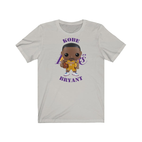 Kobe Bryant L.A Lakers (Yellow Jersey), Soft Cotton Bella and Canvas Short Sleeve Tee shirt