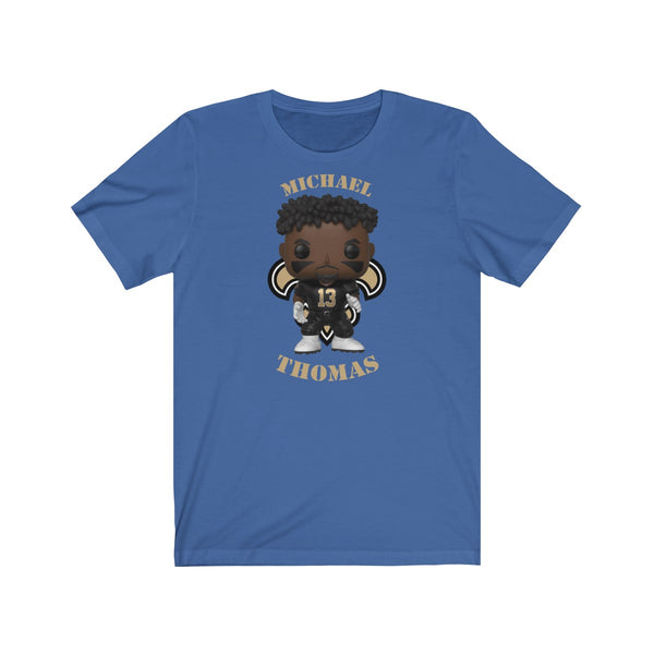Michael Thomas New Orleans Saints, Soft Cotton Bella and Canvas Short Sleeve Tee shirt