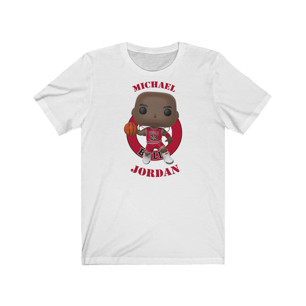 Michael Jordan Chicago Bulls, Soft Cotton Bella and Canvas Short Sleeve Tee shirt