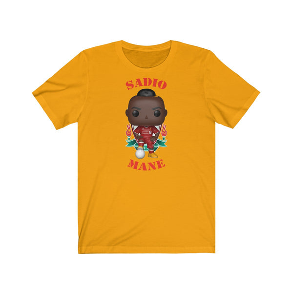 Sadio Mane Liverpool, Soft Cotton Bella and Canvas Short Sleeve Tee shirt