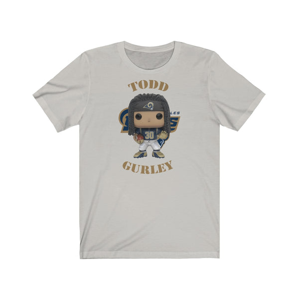 Todd Gurley L.A Rams, Soft Cotton Bella and Canvas Short Sleeve Tee shirt