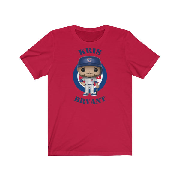 Kris Bryant Chicago Cubs, Soft Cotton Bella and Canvas Short Sleeve Tee shirt