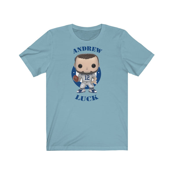 Andrew Luck Indianapolis Colts, Soft Cotton Bella and Canvas Short Sleeve Tee shirt