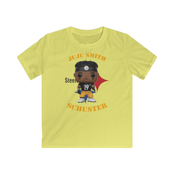 JuJu Smith Schuster Pittsburgh Steelers, Kids Gildan Softstyle Tee Shirt