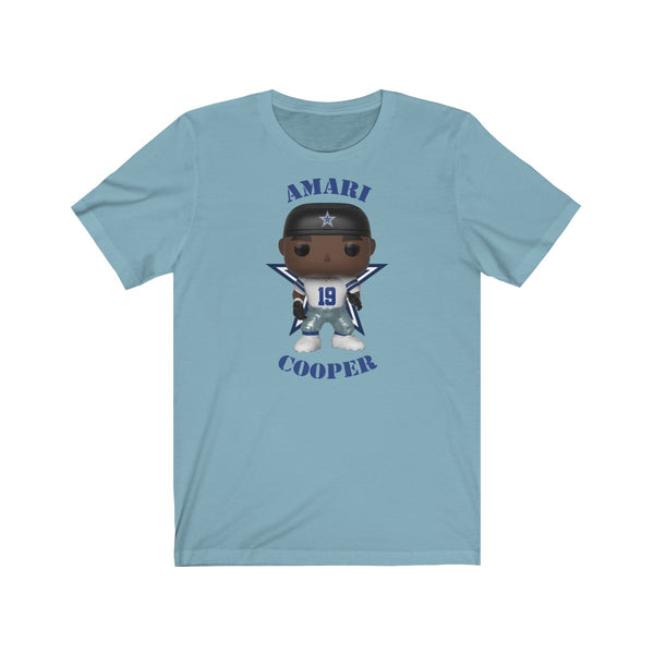 Amari Cooper Dallas Cowboys, Soft Cotton Bella and Canvas Short Sleeve Tee shirt