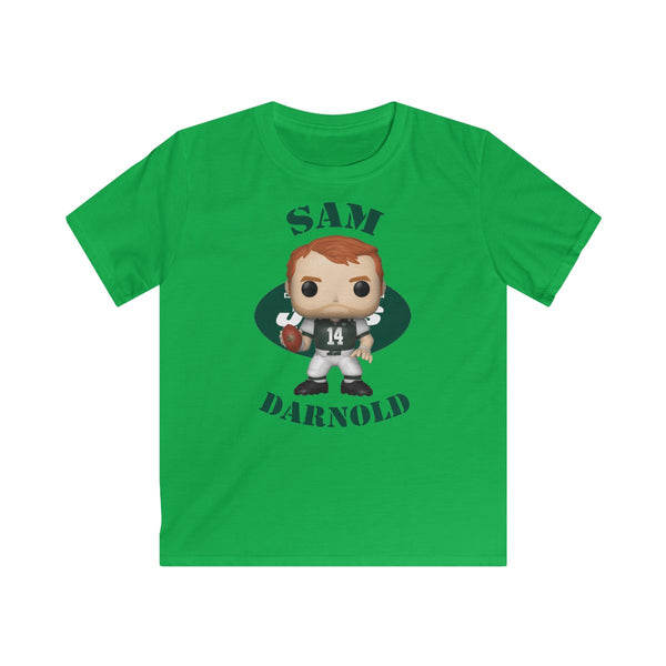 Sam Darnold New York Jets, Kids Gildan Softstyle Tee Shirt