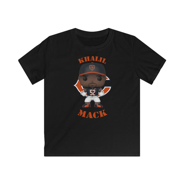 Khalil Mack Chicago Bears, Kids Gildan Softstyle Tee Shirt