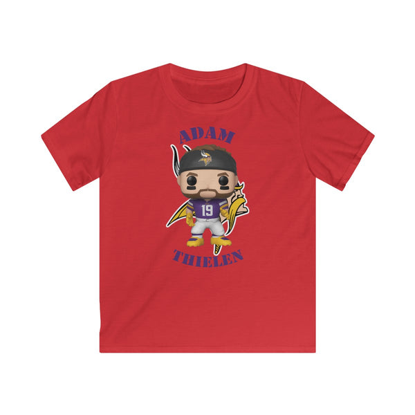 Adam Thielen Minnesota Vikings, Kids Gildan Softstyle Tee Shirt