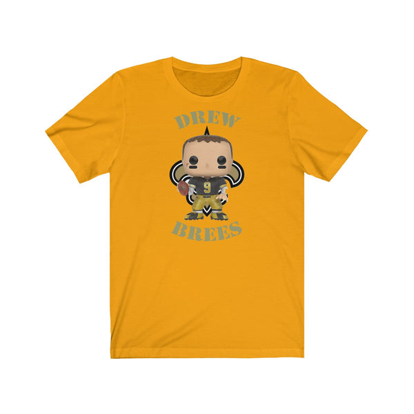 Drew Brees New Orleans Saints Throwback, Soft Cotton Bella and Canvas Short Sleeve Tee shirt