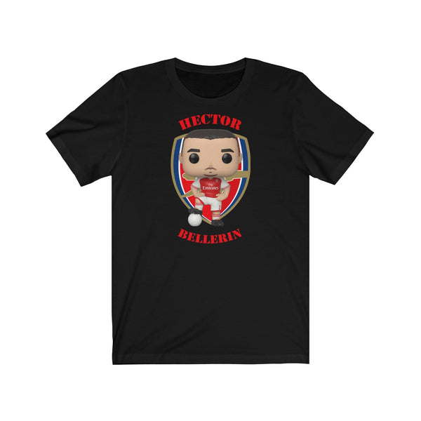 Hector Ballerin Arsenal, Soft Cotton Bella and Canvas Short Sleeve Tee shirt