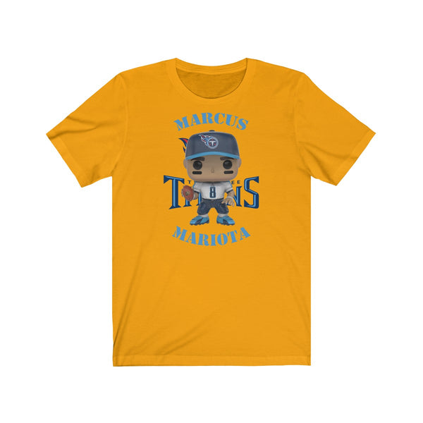 Marcus Mariota Tennessee Titans, Soft Cotton Bella and Canvas Short Sleeve Tee shirt
