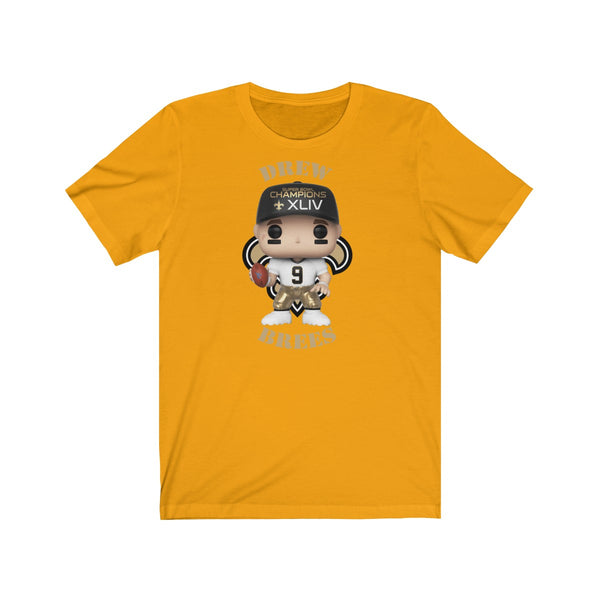 Drew Brees New Orleans Saints, Soft Cotton Bella and Canvas Short Sleeve Tee shirt