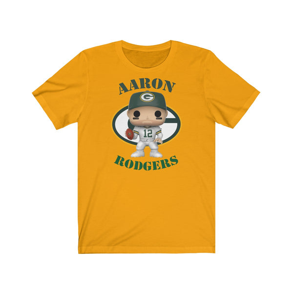 Aaron Rodgers Green Bay Packers, Soft Cotton Bella and Canvas Short Sleeve Tee shirt