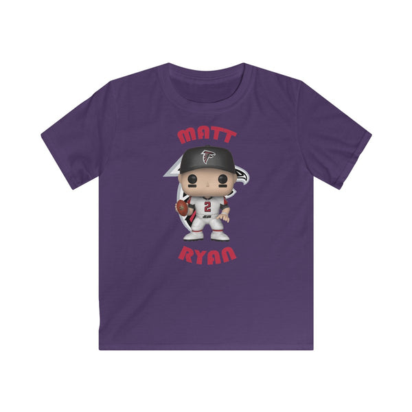 Matt Ryan Atlanta Falcons, Kids Gildan Softstyle Tee Shirt