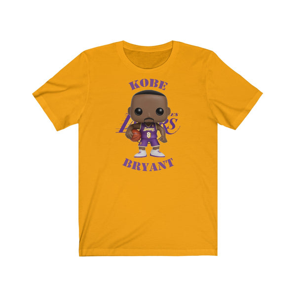 Kobe Bryant L.A Lakers, Soft Cotton Bella and Canvas Short Sleeve Tee shirt