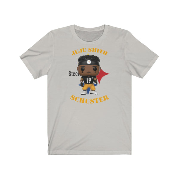 JuJu Smith Schuster Pittsburgh Steelers, Soft Cotton Bella and Canvas Short Sleeve Tee shirt