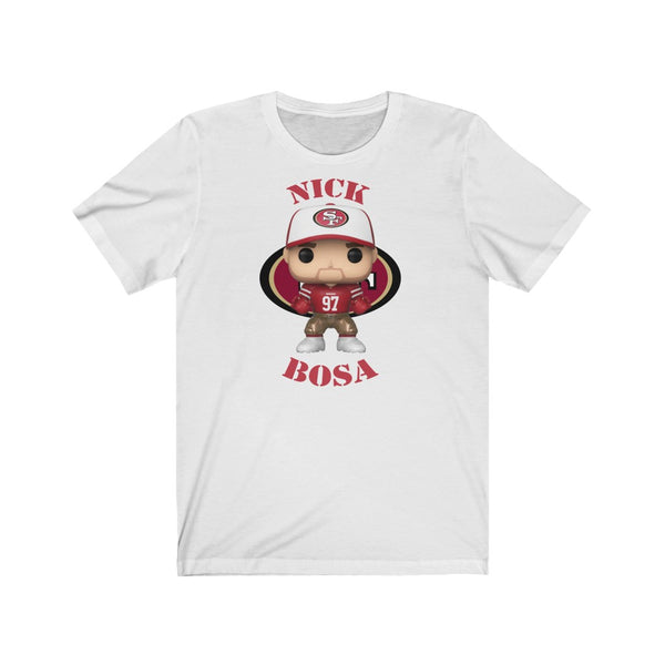 Nick Bosa San Francisco 49ers, Soft Cotton Bella and Canvas Short Sleeve Tee shirt