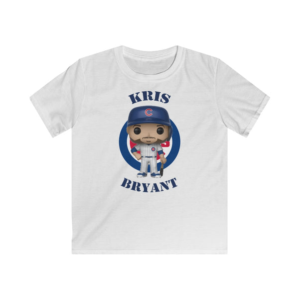 Kris Bryant Chicago Cubs, Kids Gildan Softstyle Tee Shirt