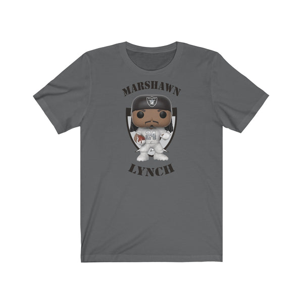 Marshawn Lynch Oakland Raiders, Soft Cotton Bella and Canvas Short Sleeve Tee shirt