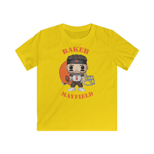 Baker Mayfield Cleveland  Browns, Kids Gildan Softstyle Tee Shirt
