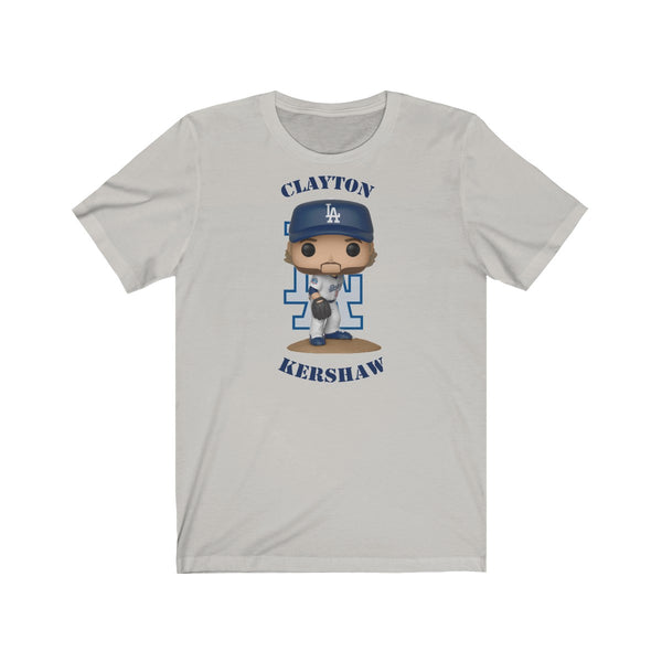 Clayton Kershaw L.A Dodgers, Soft Cotton Bella and Canvas Short Sleeve Tee shirt